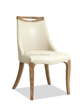 Modern Appearance and Dining Room Furniture wood and leather chair MD101