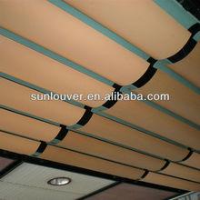 wave shape customized metal false ceiling