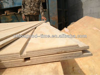 Best quality full pine slotted construction plywood