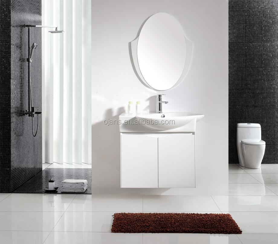 Mdf Modern Bathroom Furniture Vanity Cabinet With Ceramic Basin Buy Bathroom Basin Modern