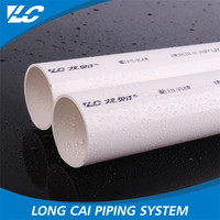 No Recycle Material Recyclable Smoothly rigid pvc pipe