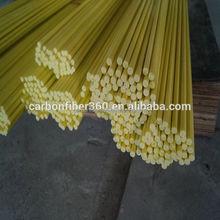 Top supplier making Fiberglass tent pole, Many shape reinforcing flexible fiberglass rod/stick