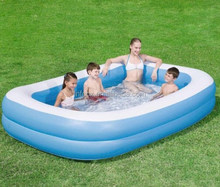 Rectangular Family Inflatable Pool / Inflatable Swim pool / inflatable adult swimming pool
