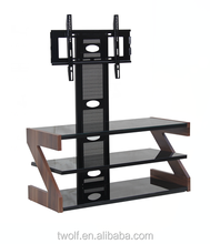 cheap wooden lcd tv stands for sale / tv support ZWL012