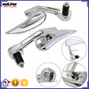 BJ-RM400-03 Chrome Billet Aluminum Motorcycle Bar End Mirror For Yamaha YZF R1
