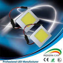 1 year warranty high brightnees car led reading light square cob led downlight