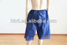 Desechables no- tejido de pantalones cortos sms
