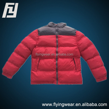 Russia Winter Men New Red Thick Cotton Padded Jacket