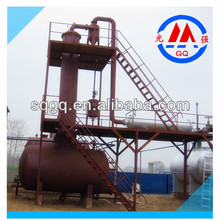 5-40 tons waste oil refining machine,continuous used oil purifying machine,oil distillation machine
