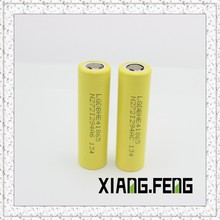 Wholesale original LG he4 battery, LG HE4 2500mAh 35Amps 3.7V rechargeable battery LG he4 yellow batter