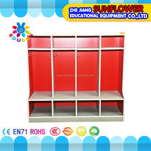 Multifunction wooden Clothes Cabinet, School Kids Toy and Clothes Cabinet (XYH-12137-7)
