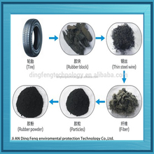 2015 dingfeng Waste Tire Crumb Rubber Grinding Machine