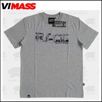 Hot selling men grey basic t-shirt, fine cotton t-shirts wholesale 2015 manufacture china