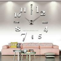 Big Mirror Wall Clock Modern Design,Large Decorative Designer Wall Clocks, Acrylic Mirror Wall Clock Home Decorative