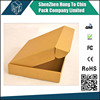 Foldable die cut corrugated newspaper delivery box