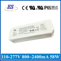 """58W AC-DC Constant Voltage LED Driver with 3 in 1 dimming Control plus """"ENABLE"""" input"""