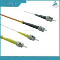 Single mode ST Optical Fiber Jumper Cable