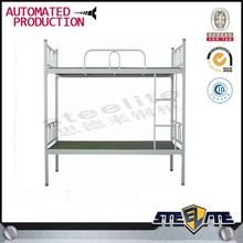 students middle school dormitory metal bunk white beds