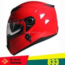 High quality motorcycle helmet China ABS red motorcycle helmet