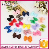 6CM Colorful bow tie accessories for kids hair clips/headband