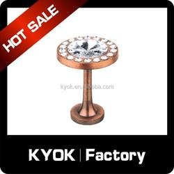 KYOK European crystal decorative curtain hook, diamond curtain accessories, curtain rod factory in foshan