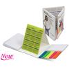 creative cute paper desktop calendar with stickynotes