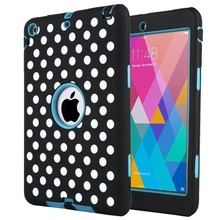 for iPad mini 1 2 3 PC hard case and silicone case wholesale in alibaba