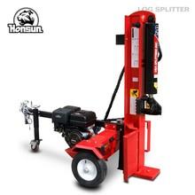 50ton 13.5hp B&S I/C Gross and 13hp Honda GX390 gasoline engine hydraulic horizontal vertical cheap log splitter for sale