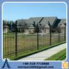 iron decoration fence/elegant Zinc steel wrought iron fence/wrought Iron Fence iso 9001& SGS certification