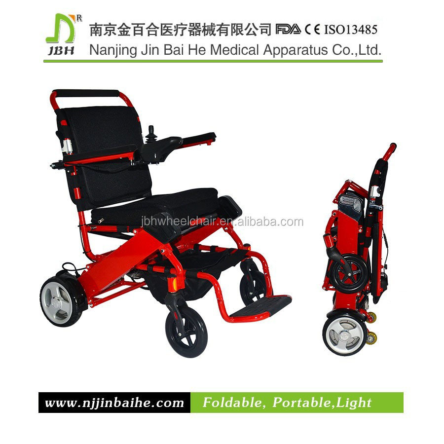 Light Weight Portable Folding Electric Power Wheelchair