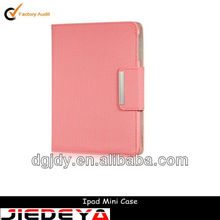 Magnetic control smart cover for ipad mini