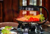 High Efficient Smokeless 3D Infrared korean bbq / electric bbq grill HJ-BBQ001