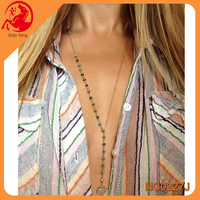 Costume Necklace,European Design Beaded Layered Necklace,Wholesale Women Accessories
