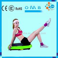 MB-TM02 Home use Ultraslim Rehabilitating Blood Circulation Massager Board Crazy Fit Foot Vibration Plate