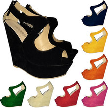 Latest thick heel shoes peep toe fashion sandals ladies shoes 2014(M20121C)