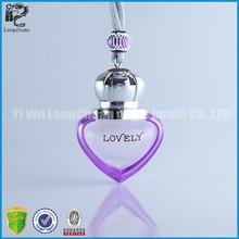 heart shape perfume bottle for decoration