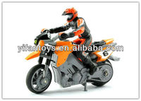2013 New Toys! 1:43 4CH RC Mini Stunt Motorcycle with Lights RC Stunt Toy Car
