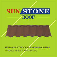 glazed steel roof tile acrylic adhesive for metal roof color penetrate tiles