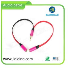 2 in 1 Audio Cable Mobile charging station Top selling products in alibaba