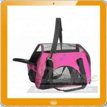 pink pet carrier