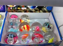 EN71 standard 65mm high bounce glitter water bounce ball