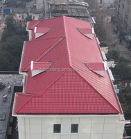 light weight composite synthetic resin roof tiles from china