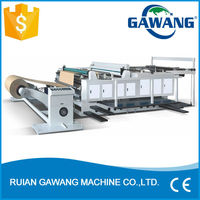 Servo Motor Control Paper Bag Sheeting And Cutter Machine