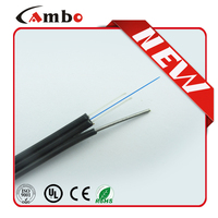 LSZH Sheath FTTH 2 Core Multimode Fiber Optic Cable Price List without self-supporting