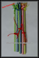 """7"""" Fashion Design Red Wooden Pencil HB Pencil with Color Paper In Bulk"""