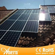 High efficiency 5KW solar panel system power with grid power switch