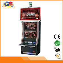 2014 arcade amusement bill acceptor game machine for casino wms game board