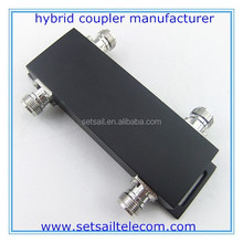 698-2700MHz RF 3dB Hybrid Coupler, 2in 2out Combiner