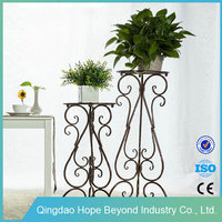 Planters antique wrought iron 3 tier plant stand