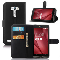 Flip Leather Wallet Stand Case Cover For Asus ZenFone Selfie ZD551KL